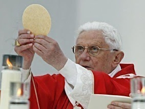 pope benedict xvi and eucharist